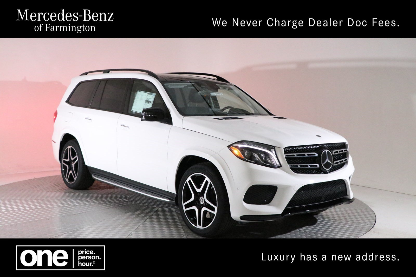 Mercedes Benz Suvs >> New 2019 Mercedes Benz Gls Gls 550 Suv In Farmington 5m90019