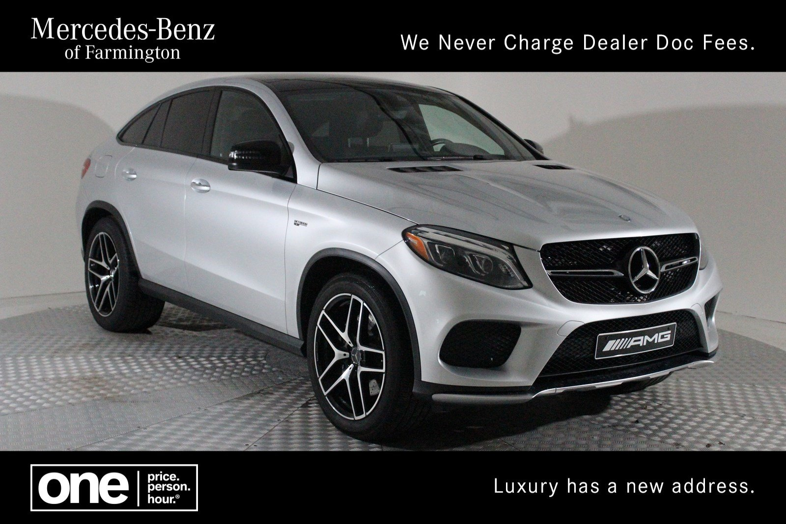 Certified Pre Owned 2017 Mercedes Benz Gle Amg 43 Coupe