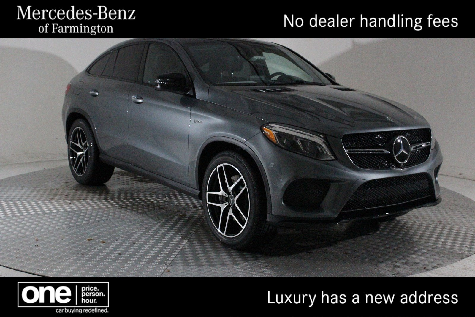 New 2019 Mercedes Benz Gle Amg Gle 43 Coupe Coupe In Farmington
