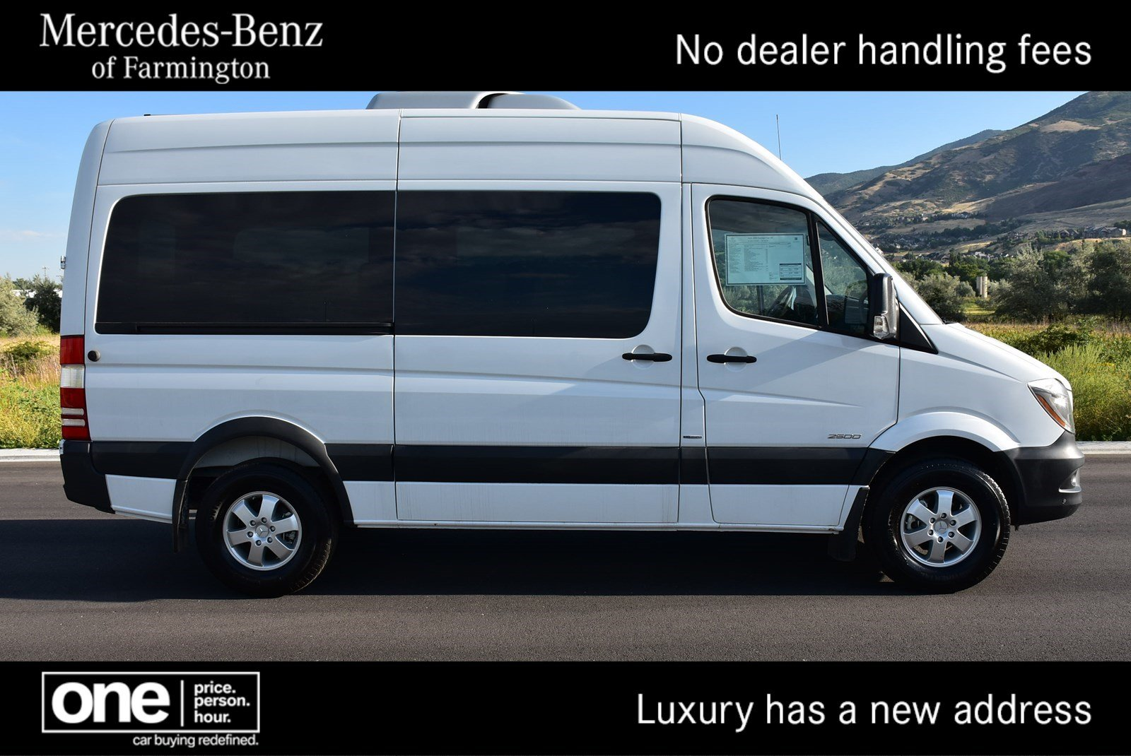 new 2016 mercedes benz sprinter 2500 passenger van