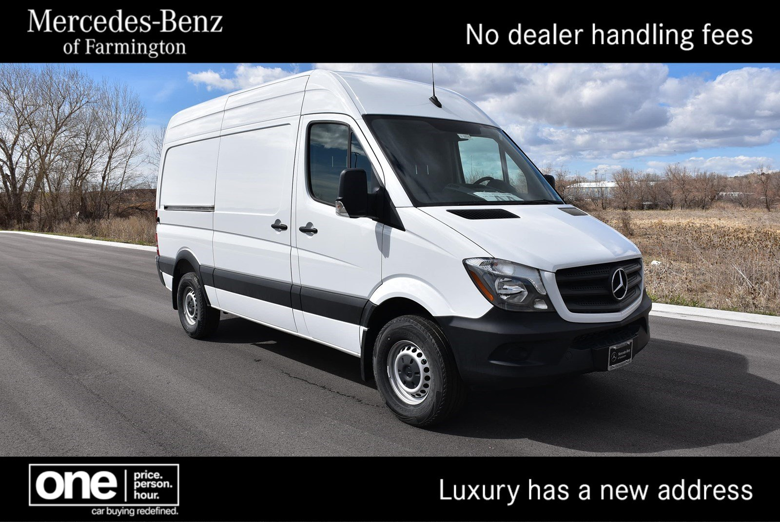 New 2017 Mercedes Benz Sprinter 2500 Cargo Van In 08 Fuel Filter Location