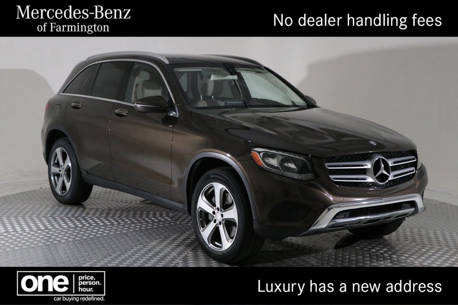 Certified Pre-Owned 2016 Mercedes-Benz GLC GLC 300 SUV in Farmington ...