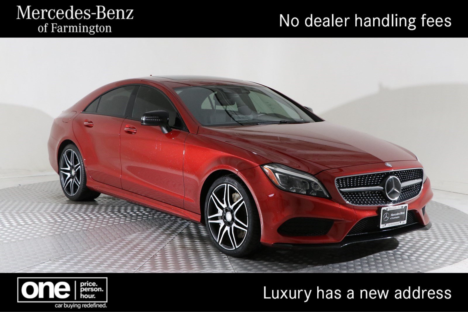 Pre Owned 2016 Mercedes Benz CLS CLS 550