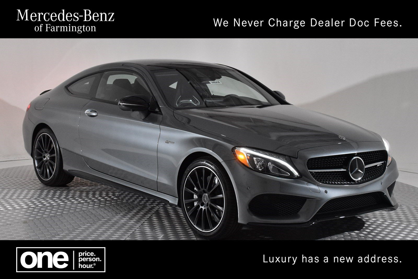 New 2018 Mercedes Benz C Class Amg C 43 Coupe Coupe In Farmington