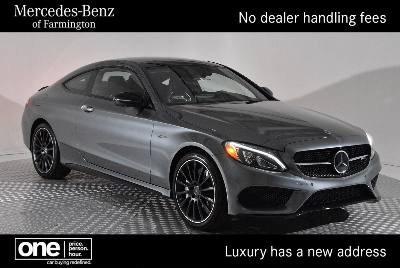 7c0f0345bc86 New 2018 Mercedes-Benz C-Class AMG® C 43 Coupe Coupe in Farmington ...