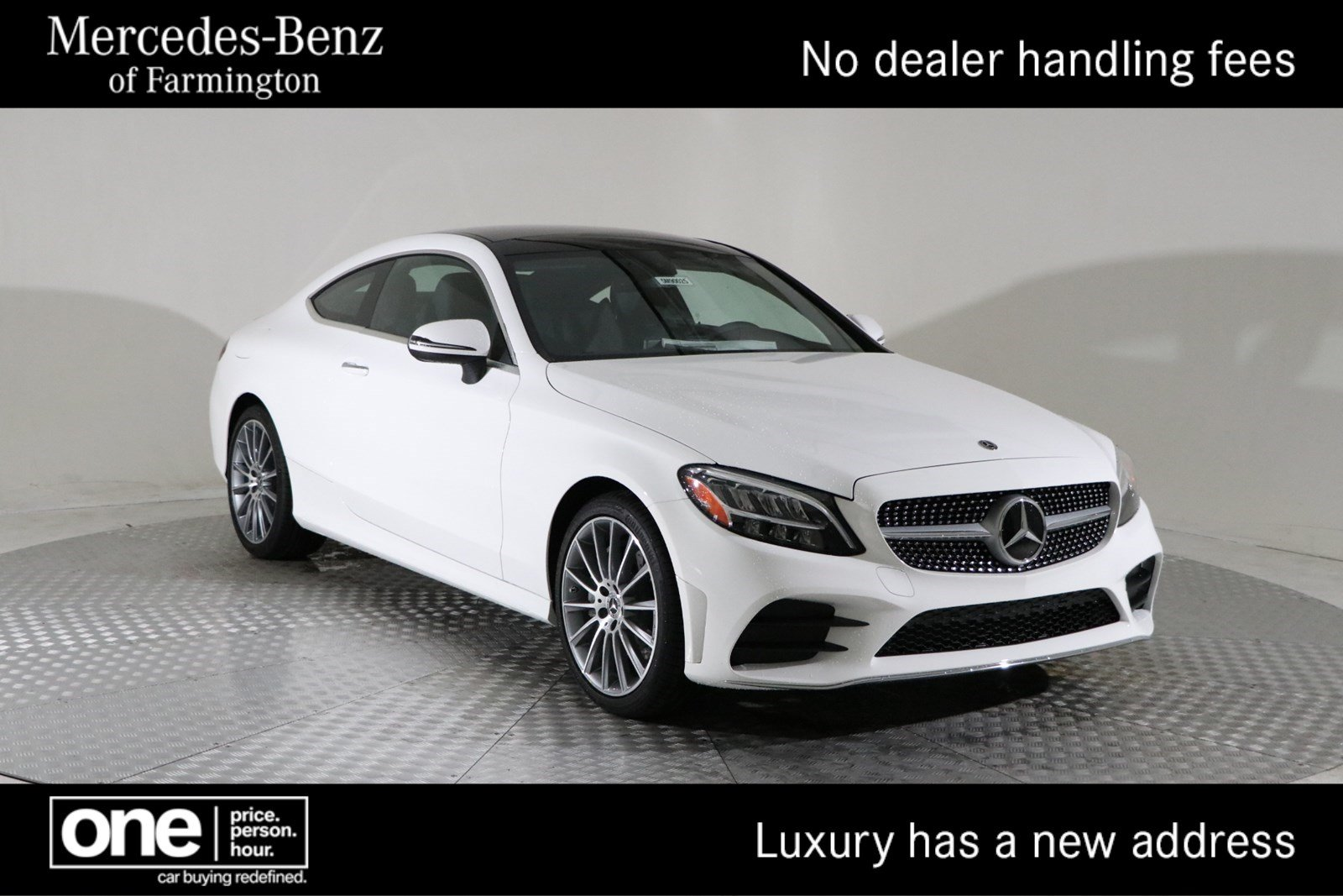 New 2019 Mercedes Benz C Class C 300 Coupe In Farmington