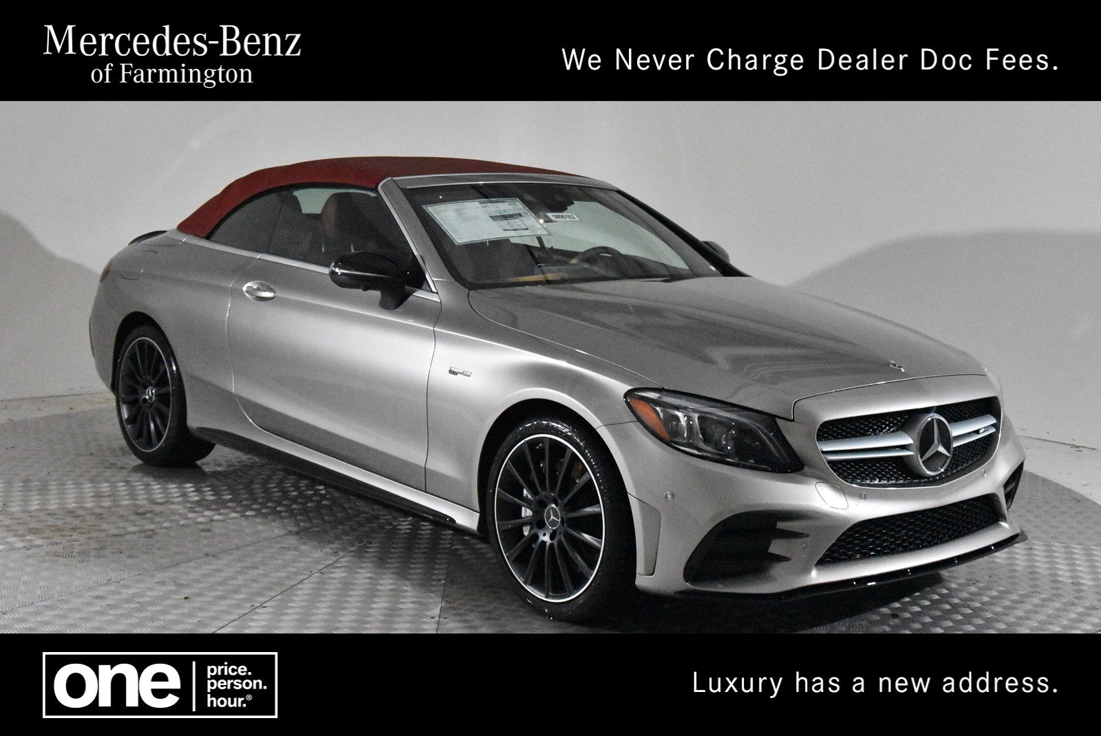 New 2019 Mercedes Benz C Class Amg C 43 Cabriolet Cabriolet In