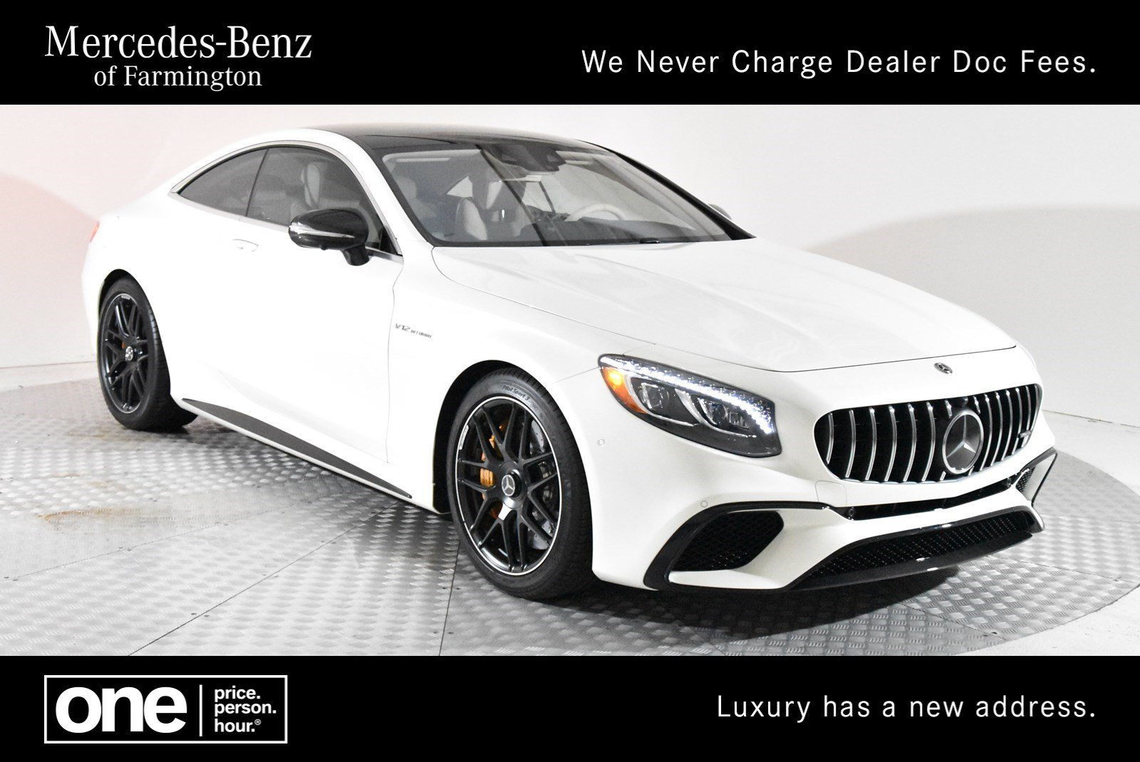 Certified Pre-Owned 2018 Mercedes-Benz S-Class AMG® S 65 Coupe