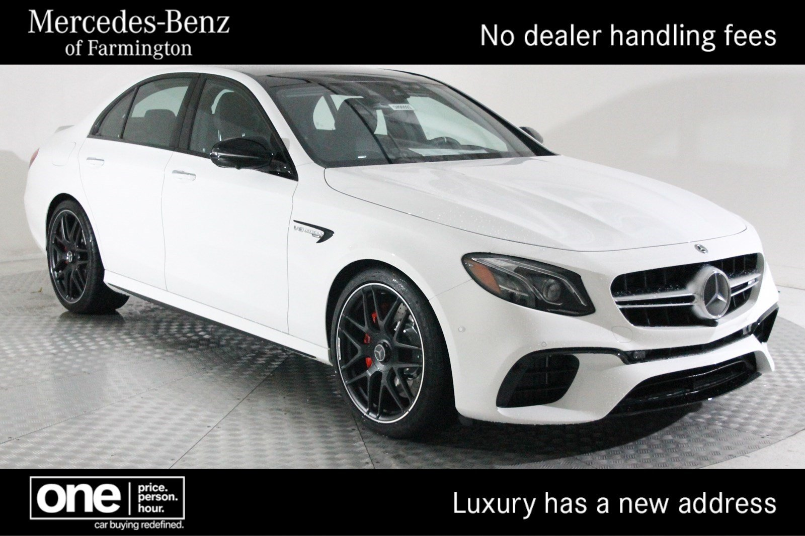 New 2019 Mercedes Benz E Class Amg E 63 S Sedan Sedan In Farmington