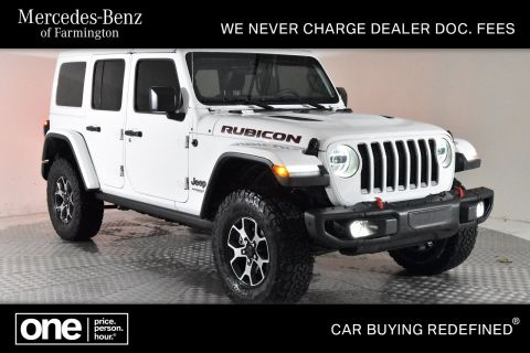 Pre-Owned 2019 Jeep Wrangler Unlimited Rubicon 4WD
