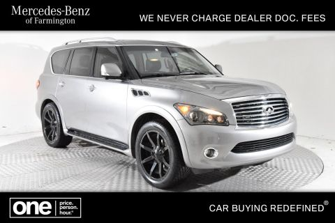 Pre-Owned 2011 INFINITI QX56 8-passenger With Navigation & 4WD