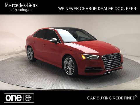 Pre-Owned 2015 Audi A3/S3 AWD