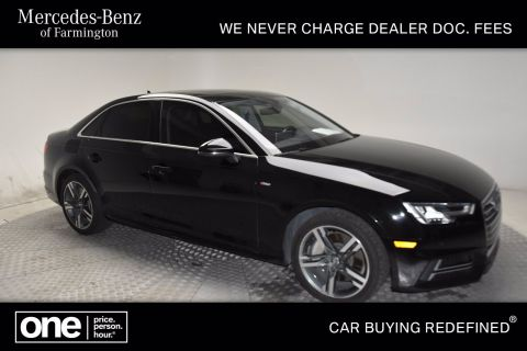Pre-Owned 2017 Audi A4 Premium Plus AWD