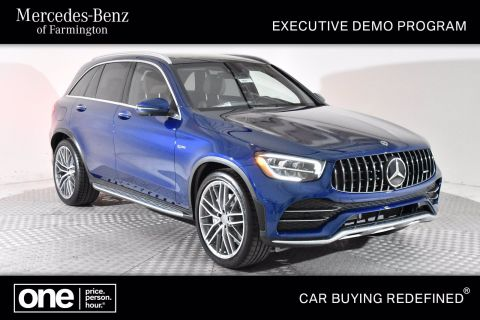 Certified Pre-Owned 2020 Mercedes-Benz AMG® GLC 43 SUV AWD 4MATIC®