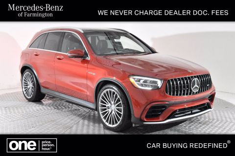 New 2020 Mercedes-Benz AMG® GLC 63 SUV AWD 4MATIC®