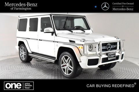 Certified Pre-Owned 2016 Mercedes-Benz AMG® G 63 SUV AWD 4MATIC®