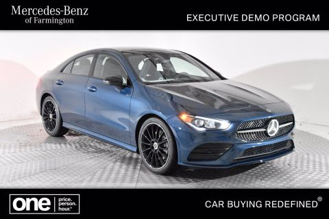 Certified Pre-Owned 2020 Mercedes-Benz CLA 250 AWD 4MATIC®