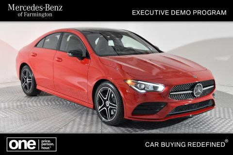 Certified Pre-Owned 2020 Mercedes-Benz CLA CLA 250 AWD 4MATIC®