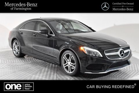 Certified Pre-Owned 2016 Mercedes-Benz CLS CLS 400 AWD 4MATIC®