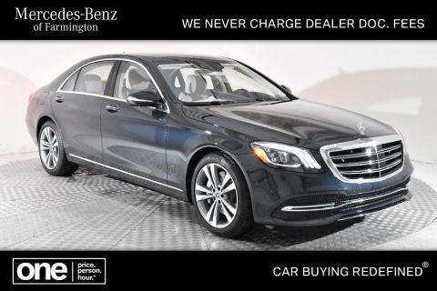 New 2020 Mercedes-Benz S 450 AWD 4MATIC®