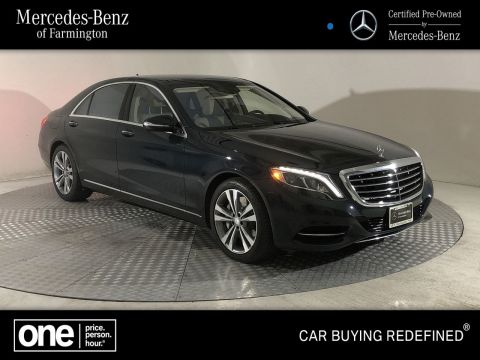 Certified Pre-Owned 2017 Mercedes-Benz S 550 AWD 4MATIC®