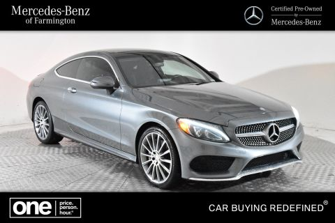 Certified Pre-Owned 2017 Mercedes-Benz C 300 Sport 4MATIC®