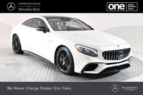 Certified Pre-Owned 2018 Mercedes-Benz S-Class AMG® S 65 Coupe RWD Coupe