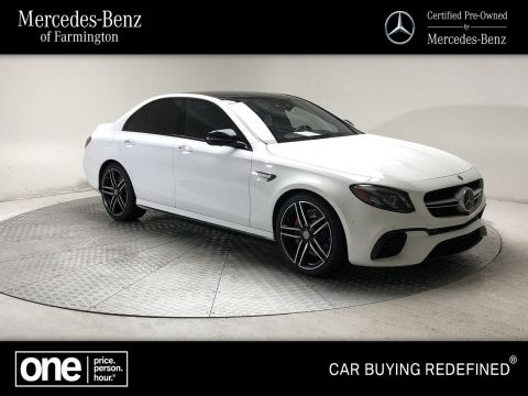 2018 Mercedes-Benz E-Class AMG® E 63 S Sedan
