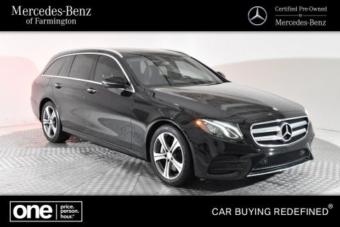 Certified Pre-Owned 2017 Mercedes-Benz E 400 Sport AWD 4MATIC®
